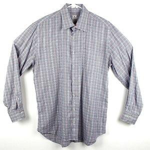 Peter Millar Men's Long Sleeve Button Up Shirt E35